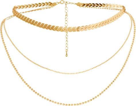 Naszyjnik trójrzędowy