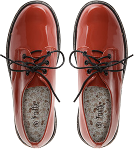 Truffle Patent Red Shoes