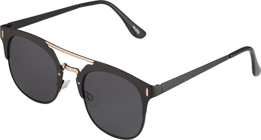 ALDO GIALANELLA Okulary przeciwsłoneczne black