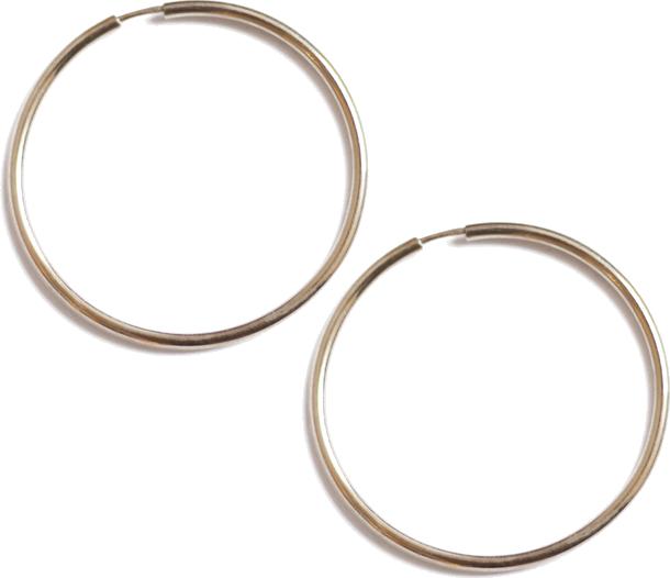 Kolczyki Simple circle Basic