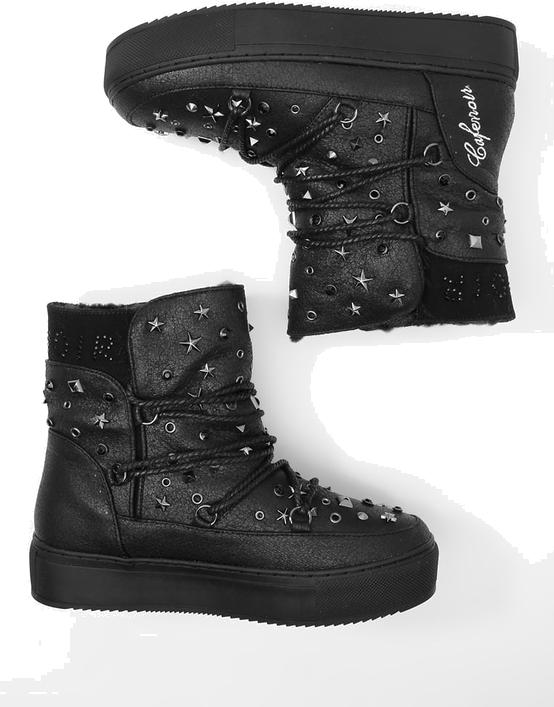 CAFèNOIR Śniegowce - black