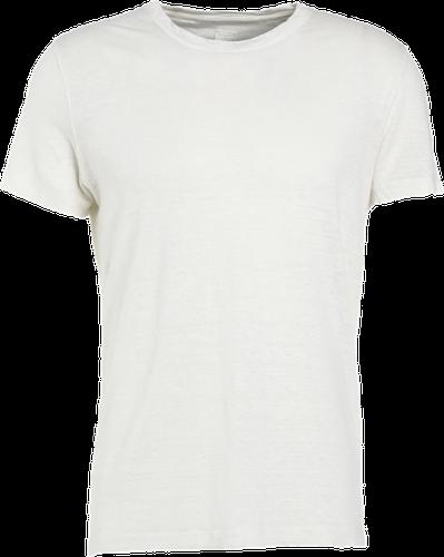 120% Lino UOMO GIROCOL Tshirt basic natural