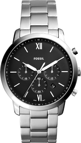 Fossil NEUTRA Zegarek chronograficzny silvercoloured