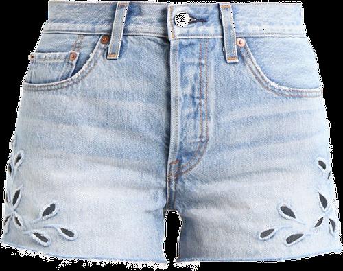 Levi's® 501 SHORT Szorty jeansowe cutthroat