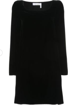 Chloé Velvet Shift Dress