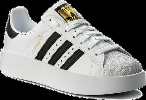 Buty adidas - Superstar Bold W BA7666 Ftwwht/Cblack/Goldmt