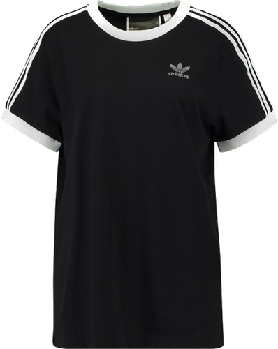 adidas Originals ADICOLOR THREE STRIPES TEE Tshirt z nadrukiem black