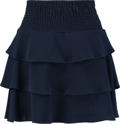 Vero Moda VMSASHA FRILL SKIRT Spódnica trapezowa navy blazer