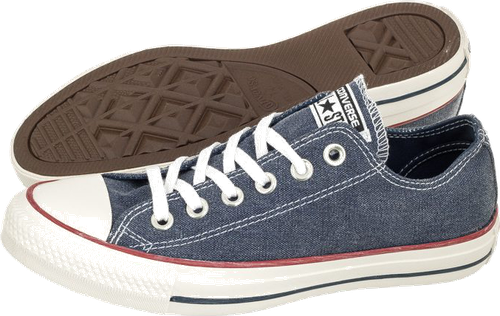 CT All Star Stone Wash OX 159539C Navy (CO323-a)