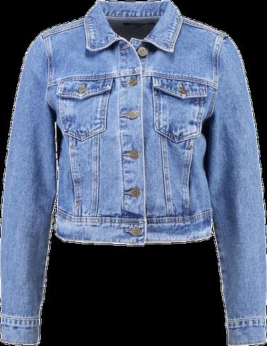 Even&Odd Kurtka jeansowa blue denim
