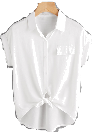 białą koszula