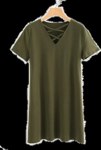 zielna sukienka