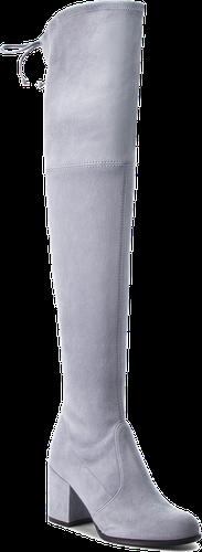 Muszkieterki STUART WEITZMAN - Tieland YL53491 Dovetail Suede