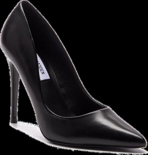 Szpilki STEVE MADDEN - Daisie Heel SM11000019-03001-017 Black Leather
