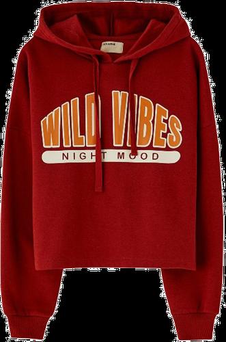 WILD VIBES - Bluza z kapturem