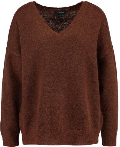 SFLIVANA V NECK - Sweter