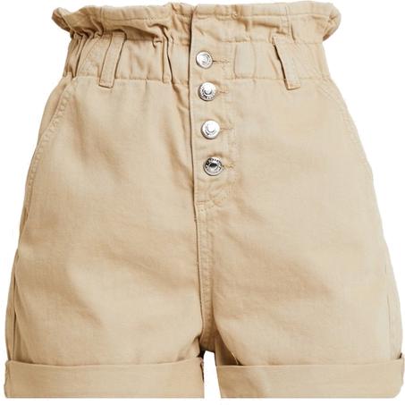 PAP BAG - Szorty jeansowe