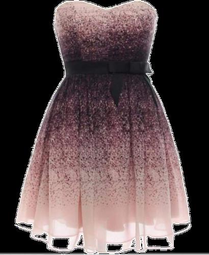 czarno-różowa