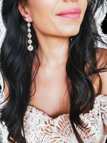 Kolczyki Trendy Pearls