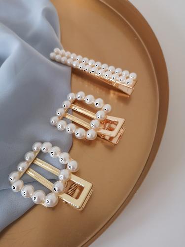 Spinki perłowe zestaw IX