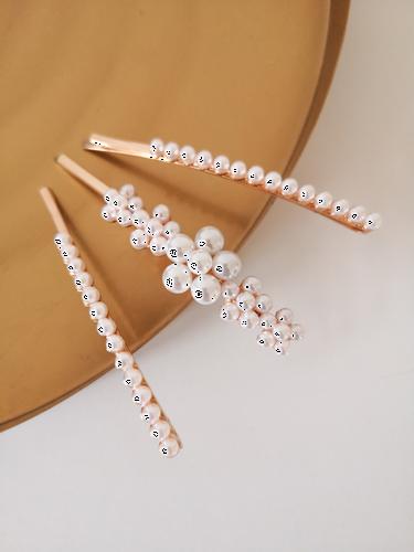 Spinki perłowe zestaw V