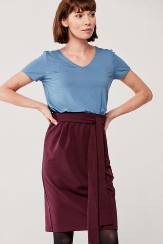 Bluzka Morgana szaroniebieska XS niebieski
