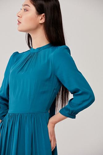 Sukienka Celia niebieska 34 niebieski