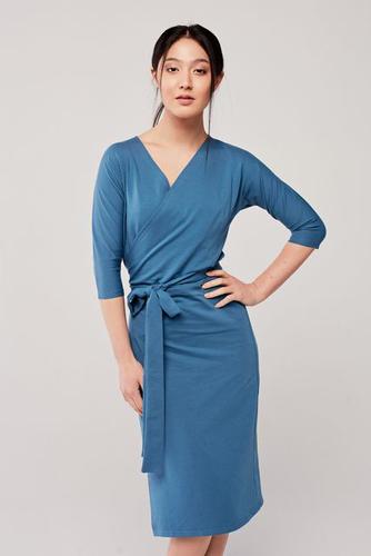 Sukienka Filomena szaroniebieska XXS niebieski