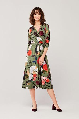 Sukienka Rita Daliance oliwkowa 46