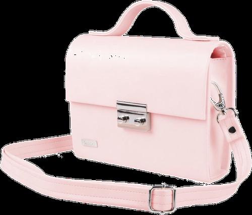 Kopertówka damska felice f19 różowa - różowy