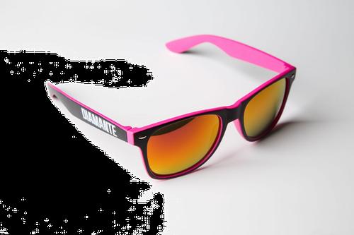 'diamante 3' - okulary - różowe