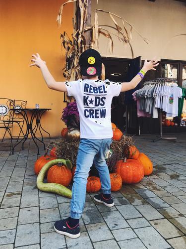 Koszulka rebel kids - biała