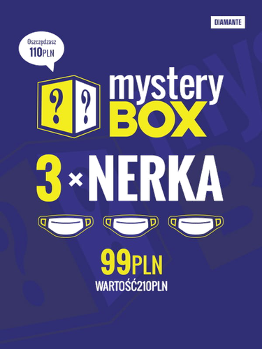 Mystery box- zestaw nerek