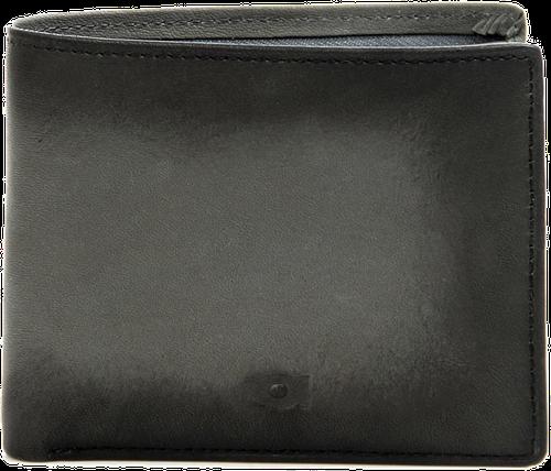 Portfel skórzany daag alive p-02 vintage szary - szary
