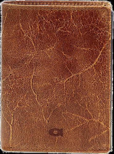 Portfel skórzany męski brązowy daag jazzy wanted p-22 - brązowy