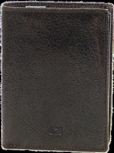 Portfel skórzany męski ciemnobrązowy daag jazzy wanted p-22 - c. brązowy