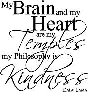 My Brain and my Heart... wallsneedlove.com
