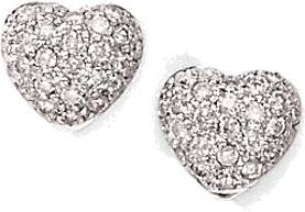 diamentowe kolczyki