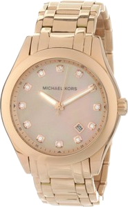 Michael Kors Women's MK5311 Rose Gold Mother-Of-Pearl Watch