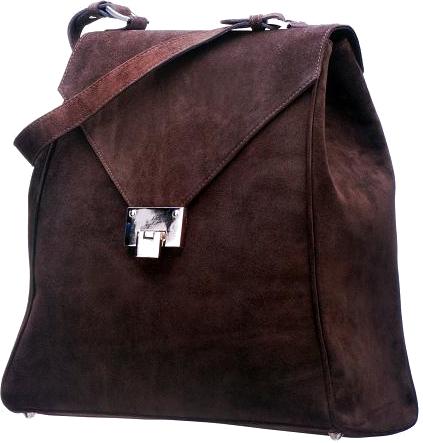 MAKObags brązowa torebka ze sprzączką